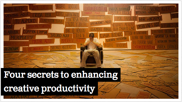Four secrets to enhancing creative productivity   Feature   .net magazine